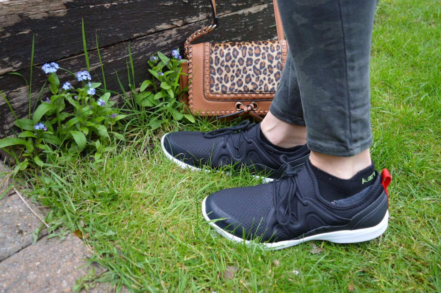 Lace, camo and Leopard Print, Vionic Storm trainers