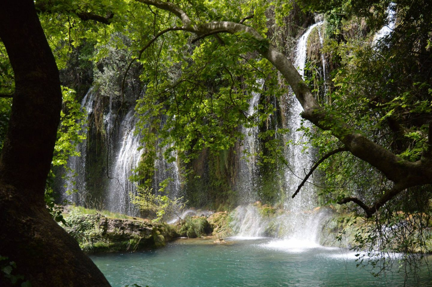 A Day Trip Exploring Antalya, Upper Duden waterfall