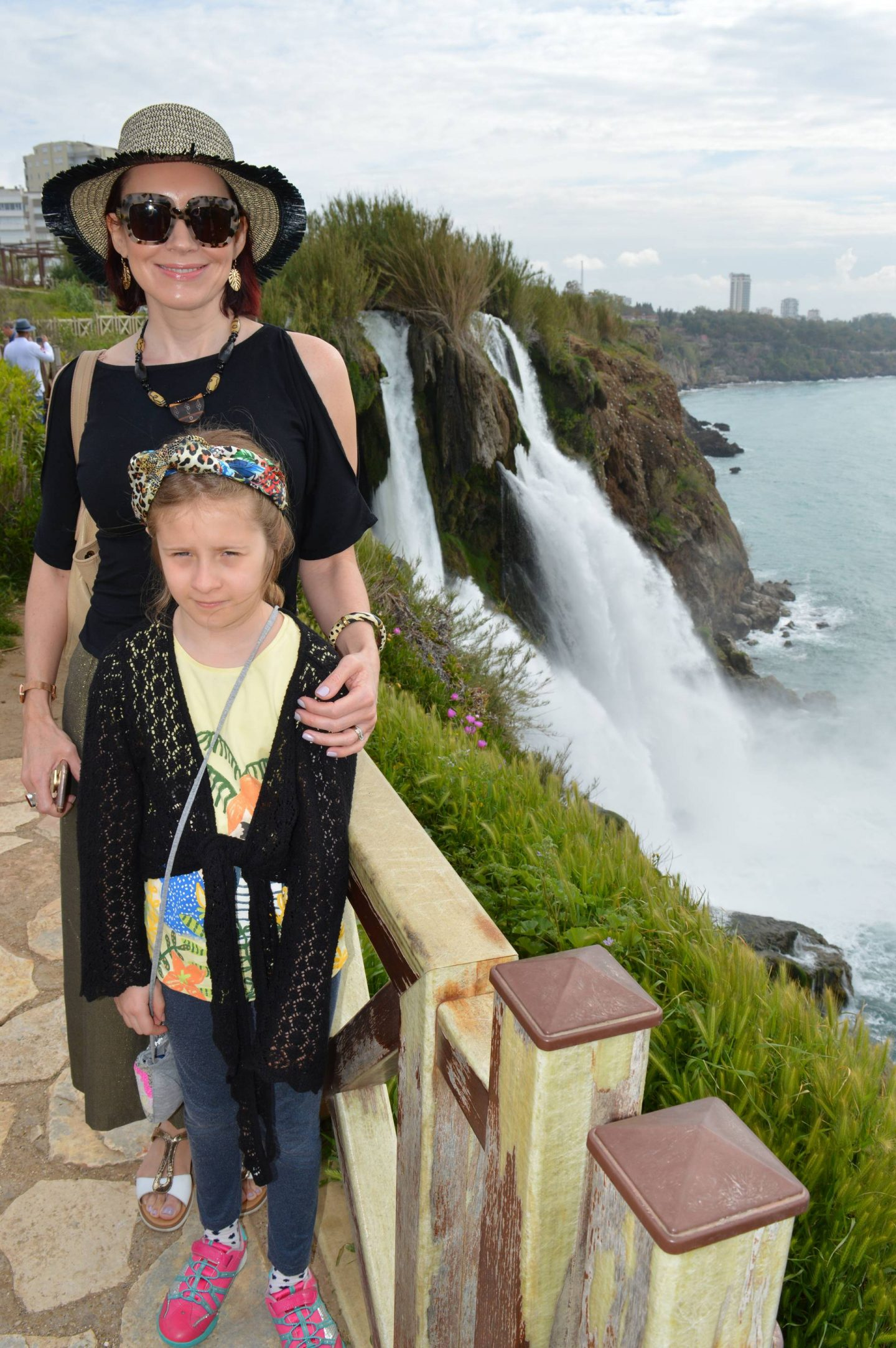 A Day Trip Exploring Antalya, Lower Duden waterfall