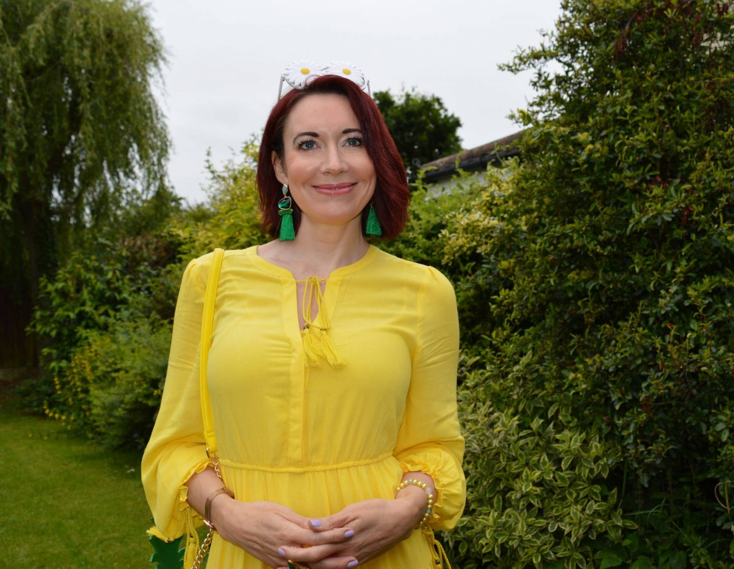 Marks and Spencer yellow dress
