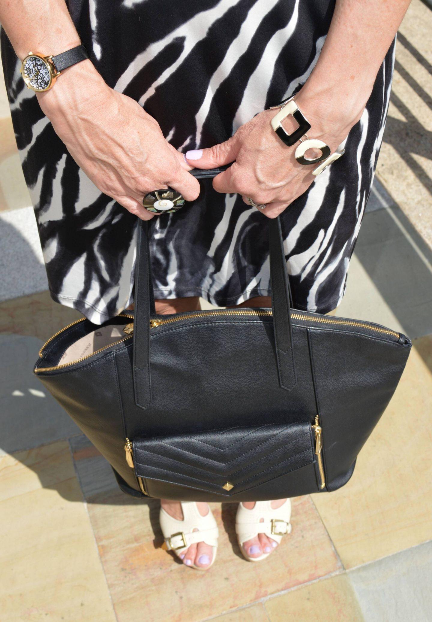 Jennifer Hamley vegan leather bag