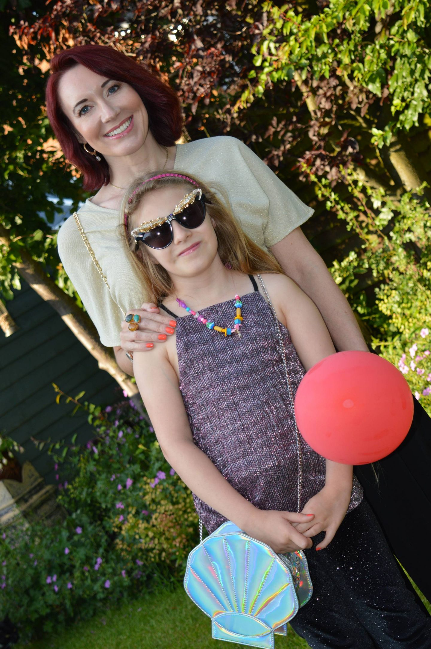 Gold Twist Top and Black Culottes & Isobel's 10th Birthday