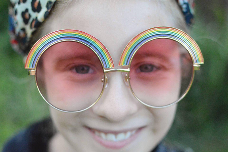Skinny Dip rainblow sunglasses