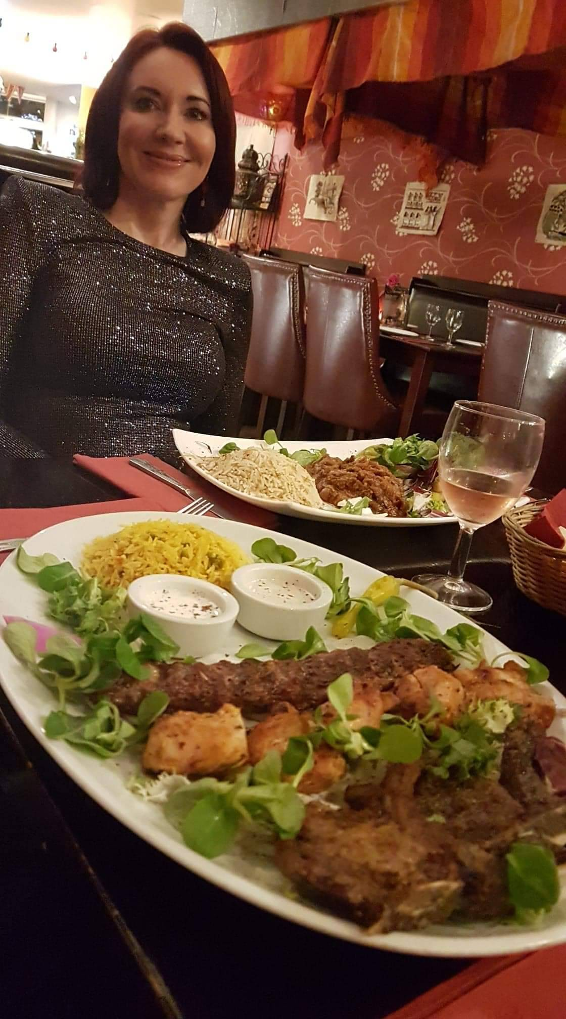 A Night in Nottingham, meal at Marrakesh