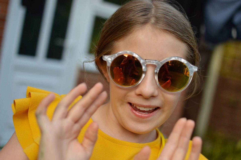 Skinny Dip mirrored sunglasses