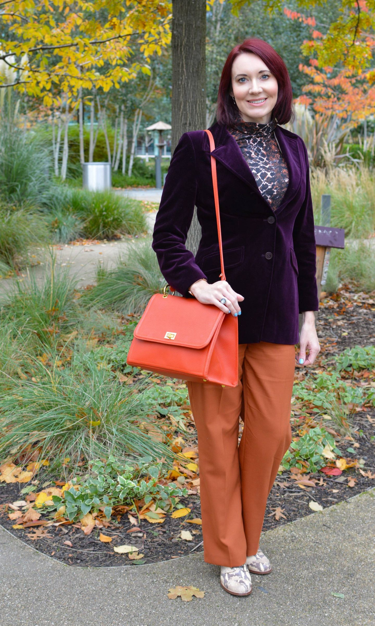 My Favourite Autumn Trend - October's Style Not Age