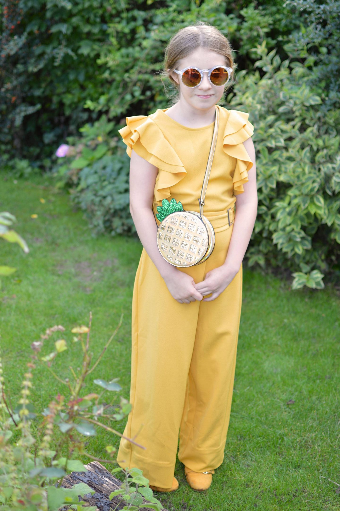 Mummy and Me Jumpsuits , girls yellow River Island jumpsuit