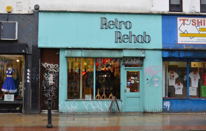 Exploring Manchester's Northern Quarter, Retro Rehab