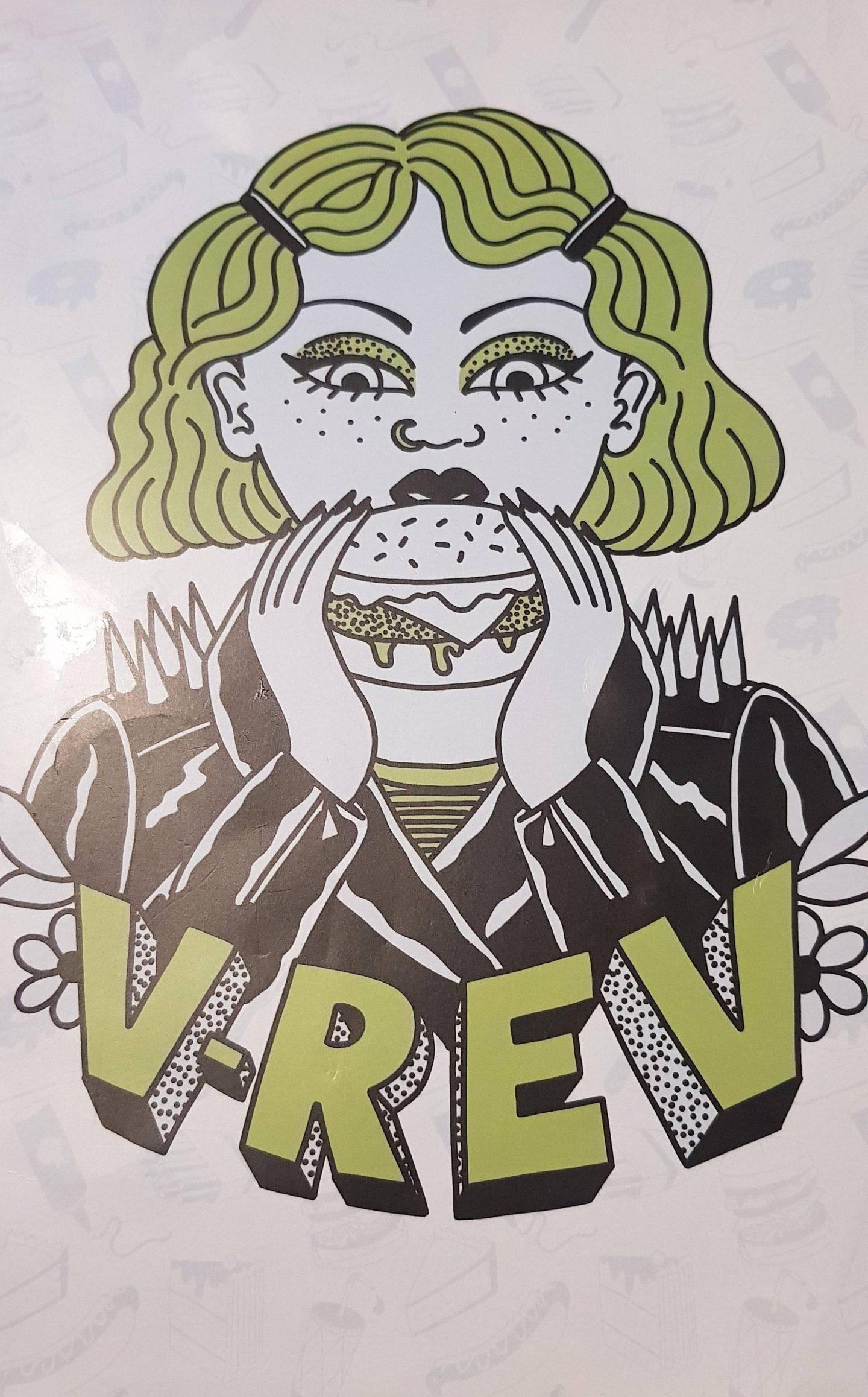 V-Rev vegan diner