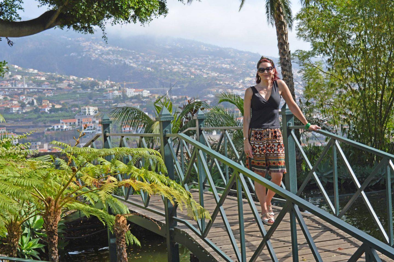 Jardins do Lago hotel botanical gardens, Funchal Madeira