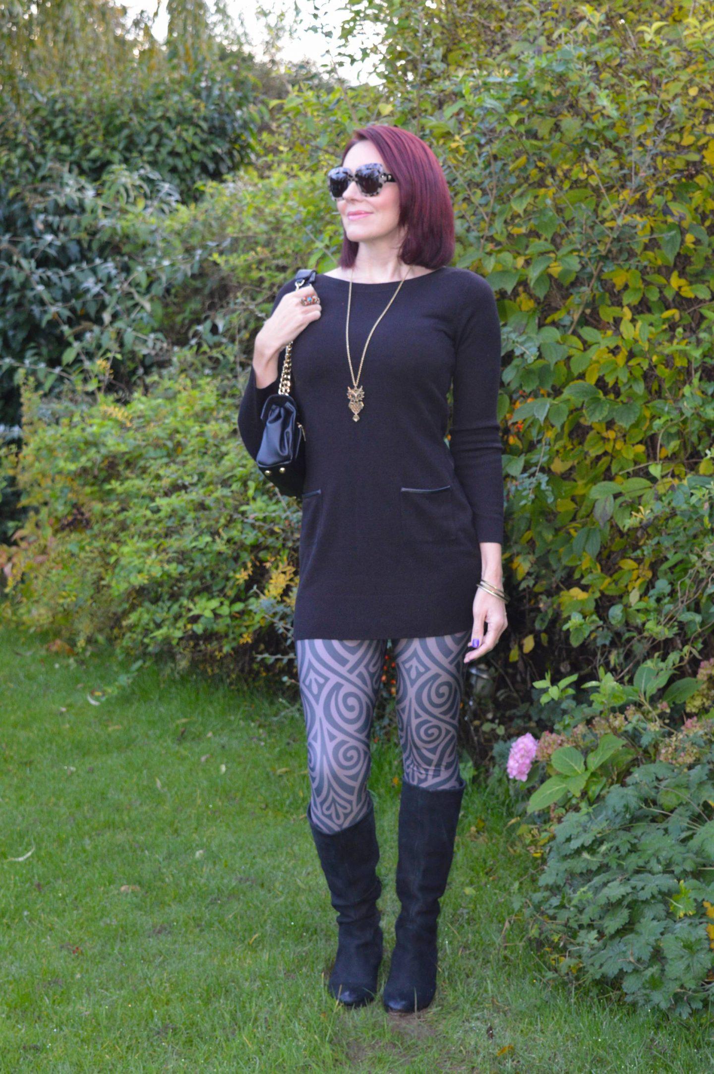 Lovely in Leggings - November Stylish Monday link up, Meadowlark leggings