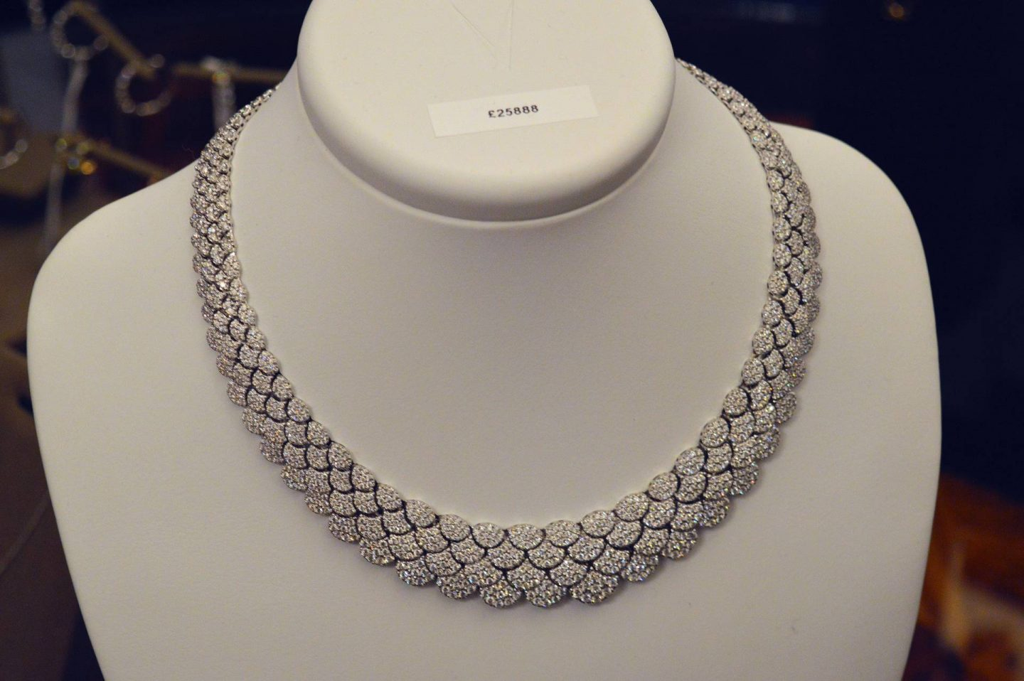 Dinner and Diamonds Event With John Pass Jewellers, diamond necklace