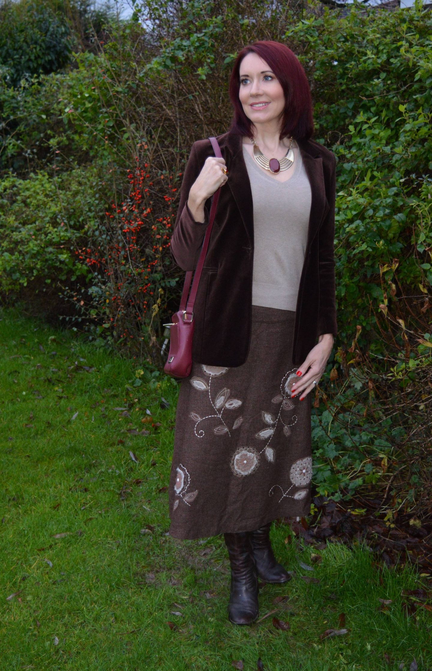 Shades of Brown: December's Match Made in Seven