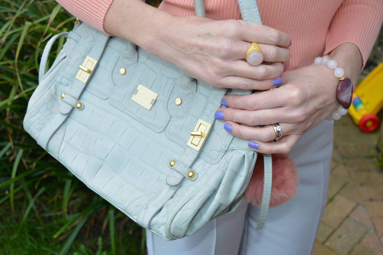 Modalu grey bag