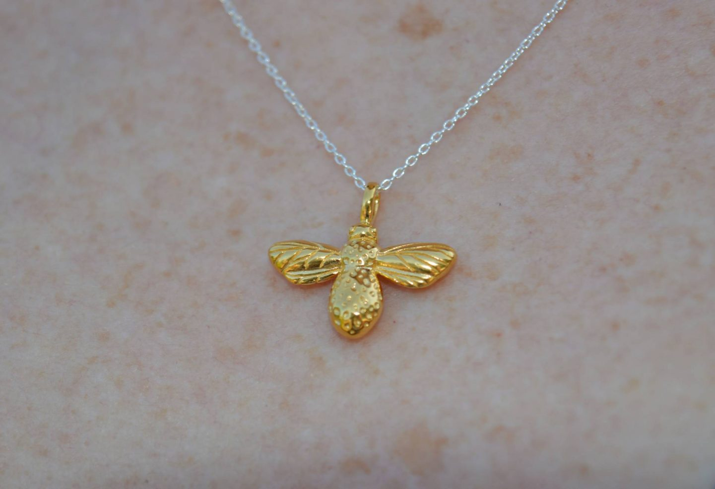 Reeves and Reeves bee necklace