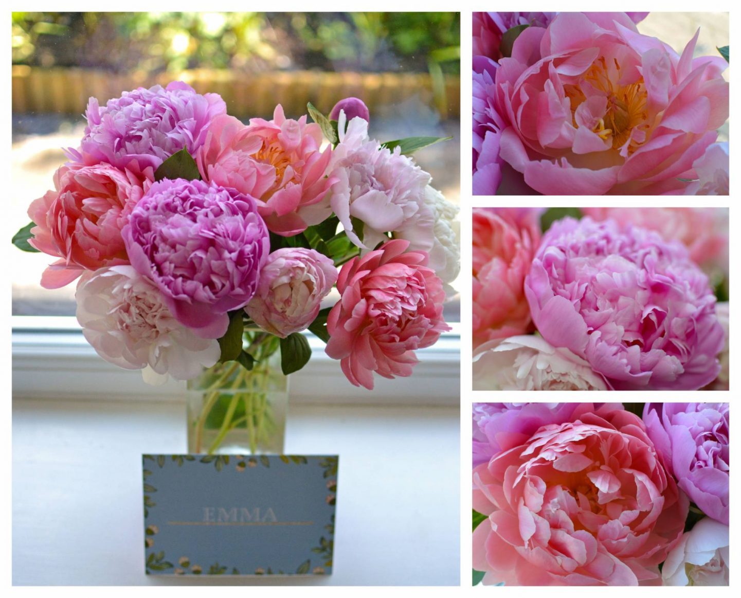 Acts of Lockdown Kindness - Connecting With Loved Ones From Afar, peonies