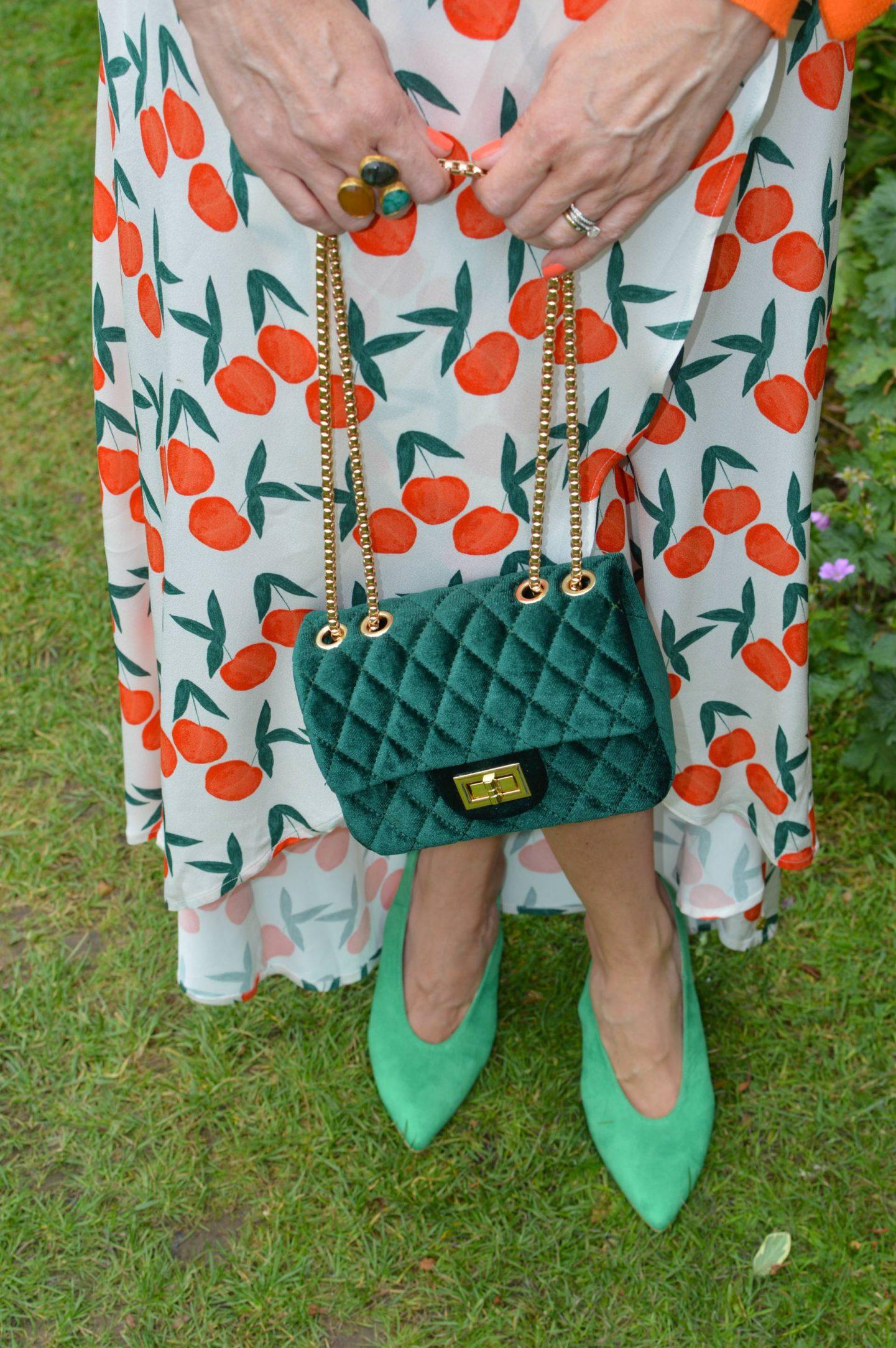 Fabienne Chapot Cora peach print Skirt