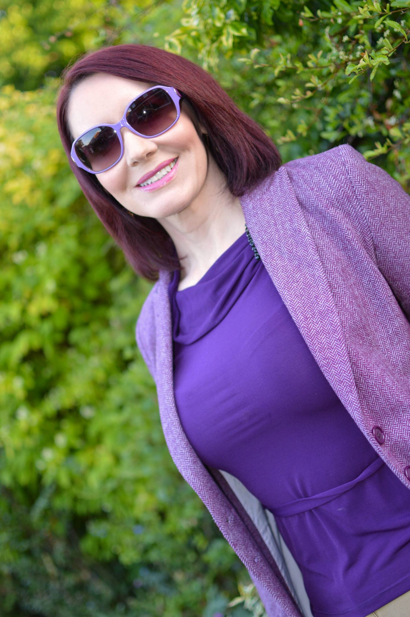Maje purple jacket