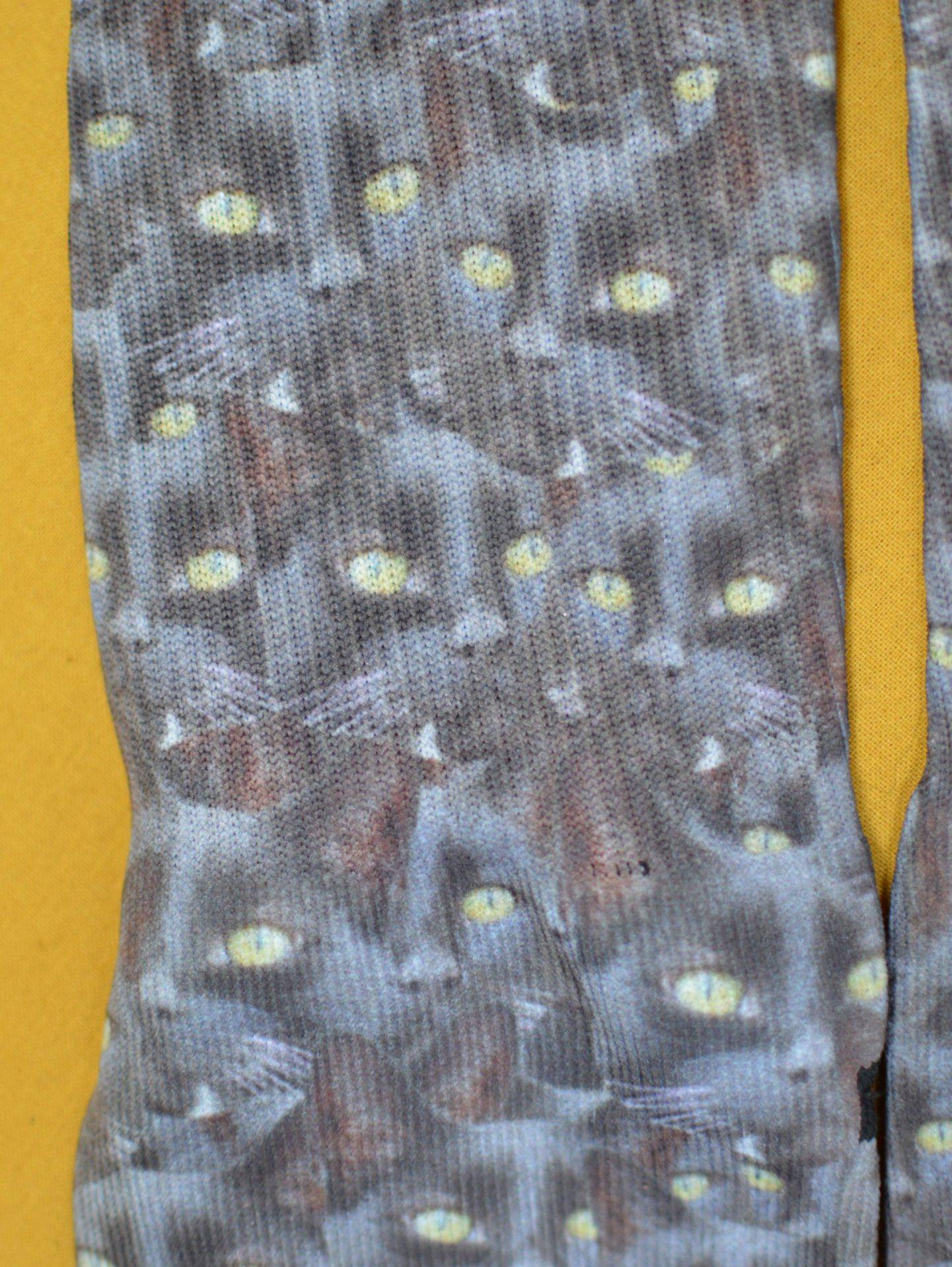 Printsfield cat mash personalised socks