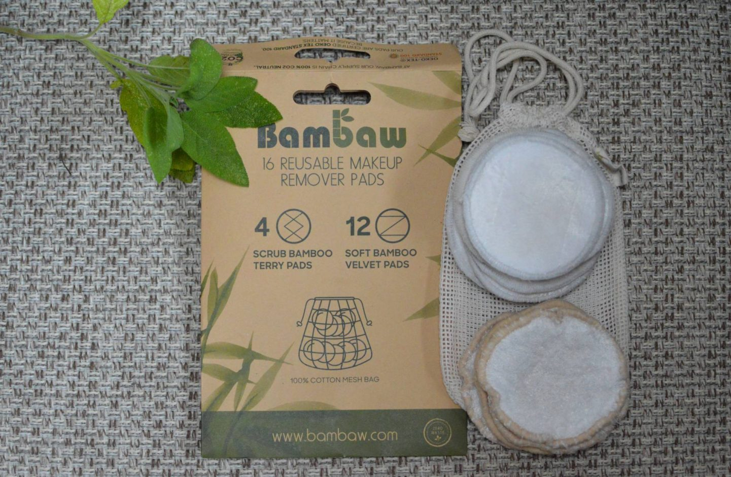 Easy Eco-Friendly Beauty Swaps, Bambaw reusable makeup pads