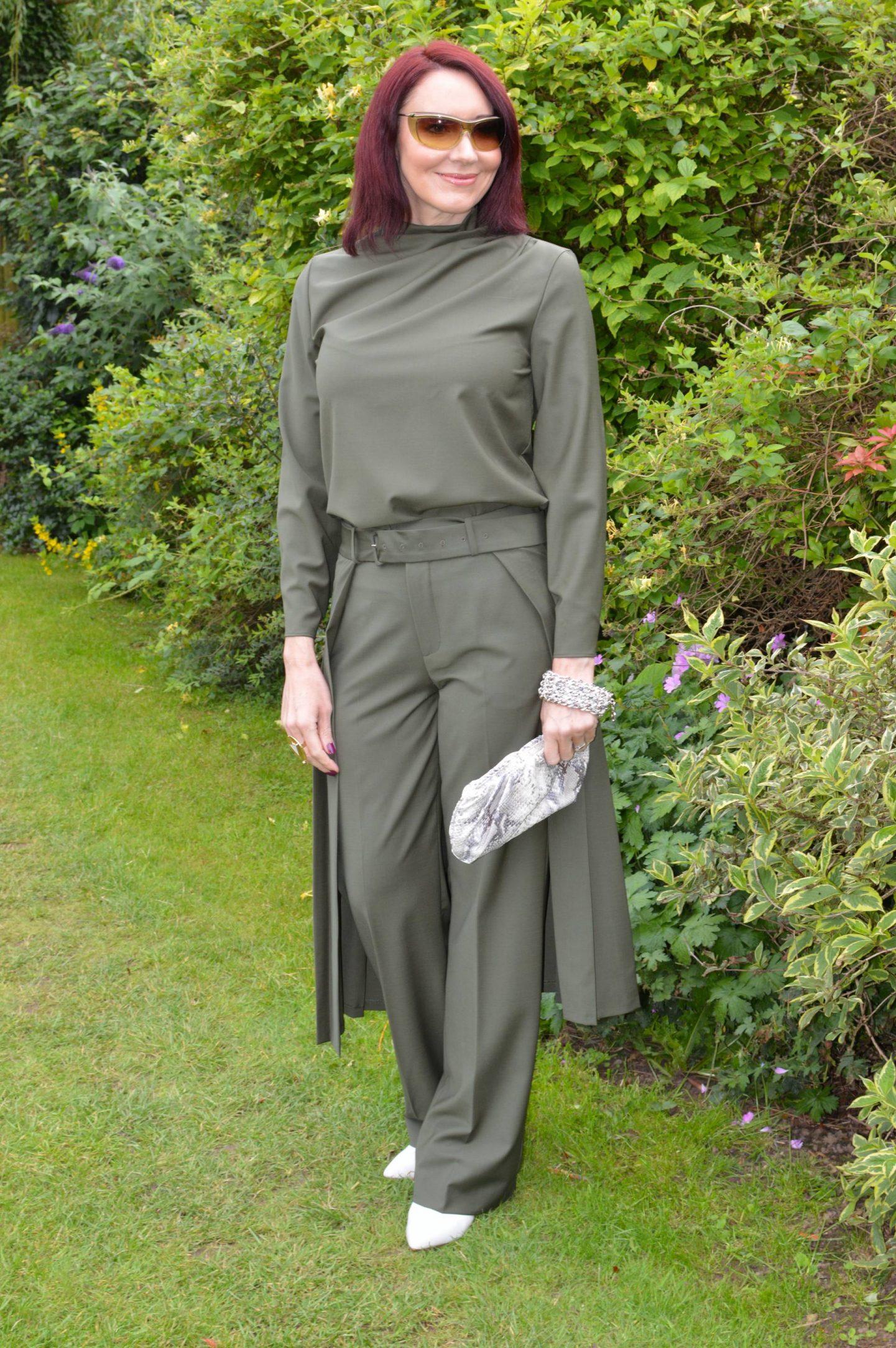 Zara Khaki Trouser Co-ord
