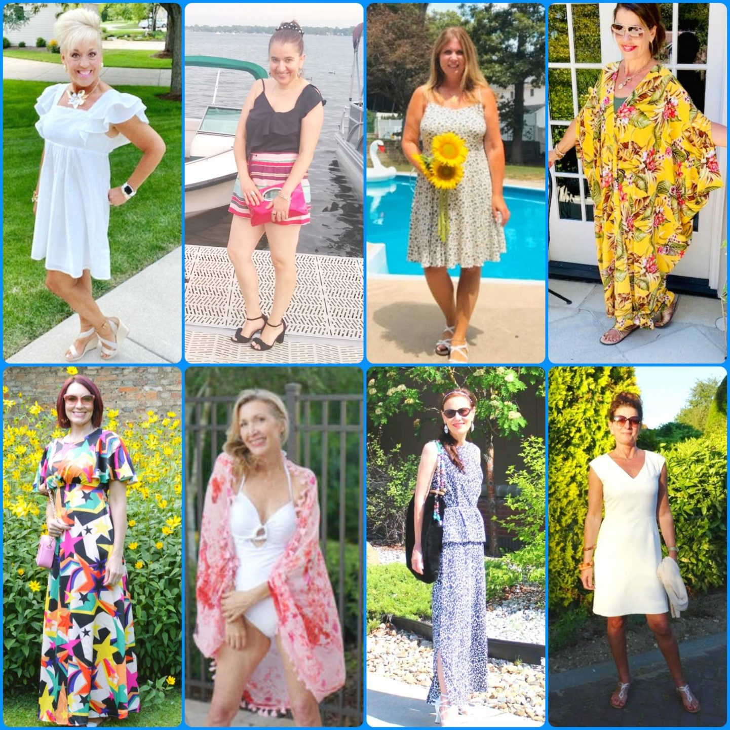 Sizzlin' Summer Style - Stylish Monday Link Up collage