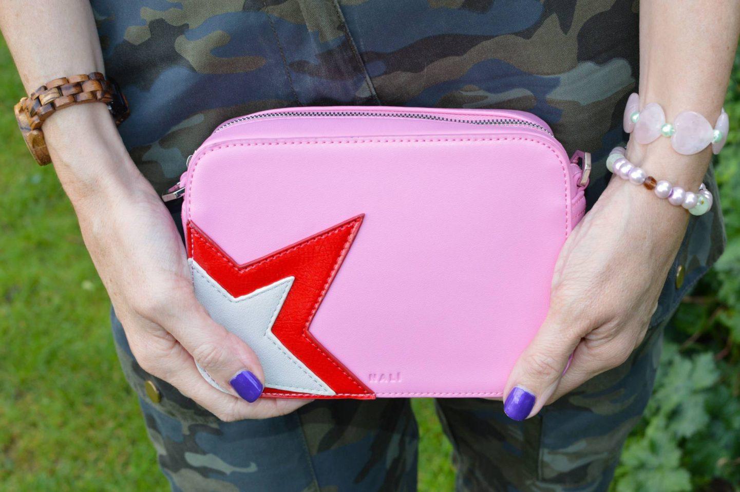 Mali pink crossbody bag