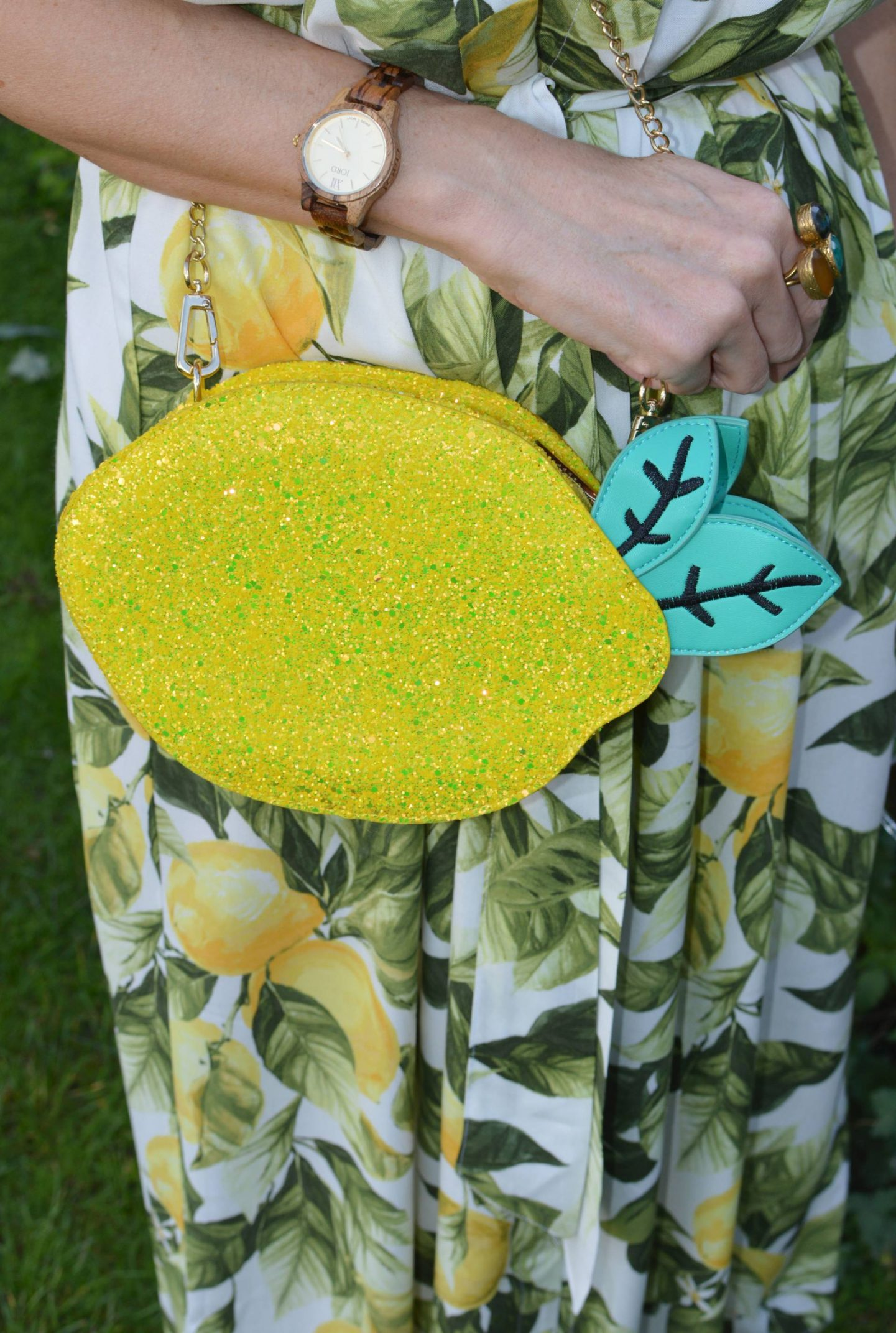 Skinny Dip lemon bag,