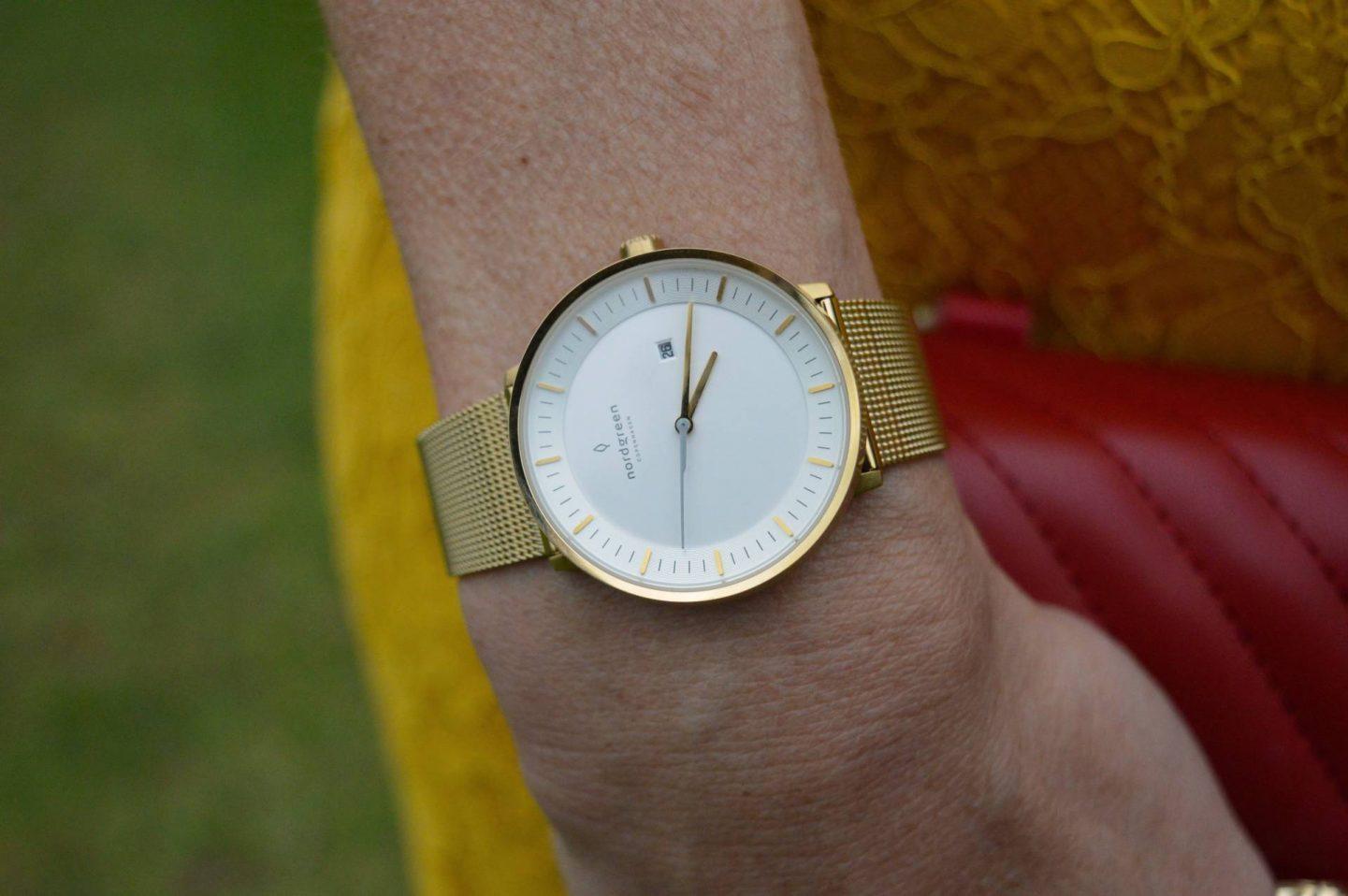 Nordgreen gold philosopher watch