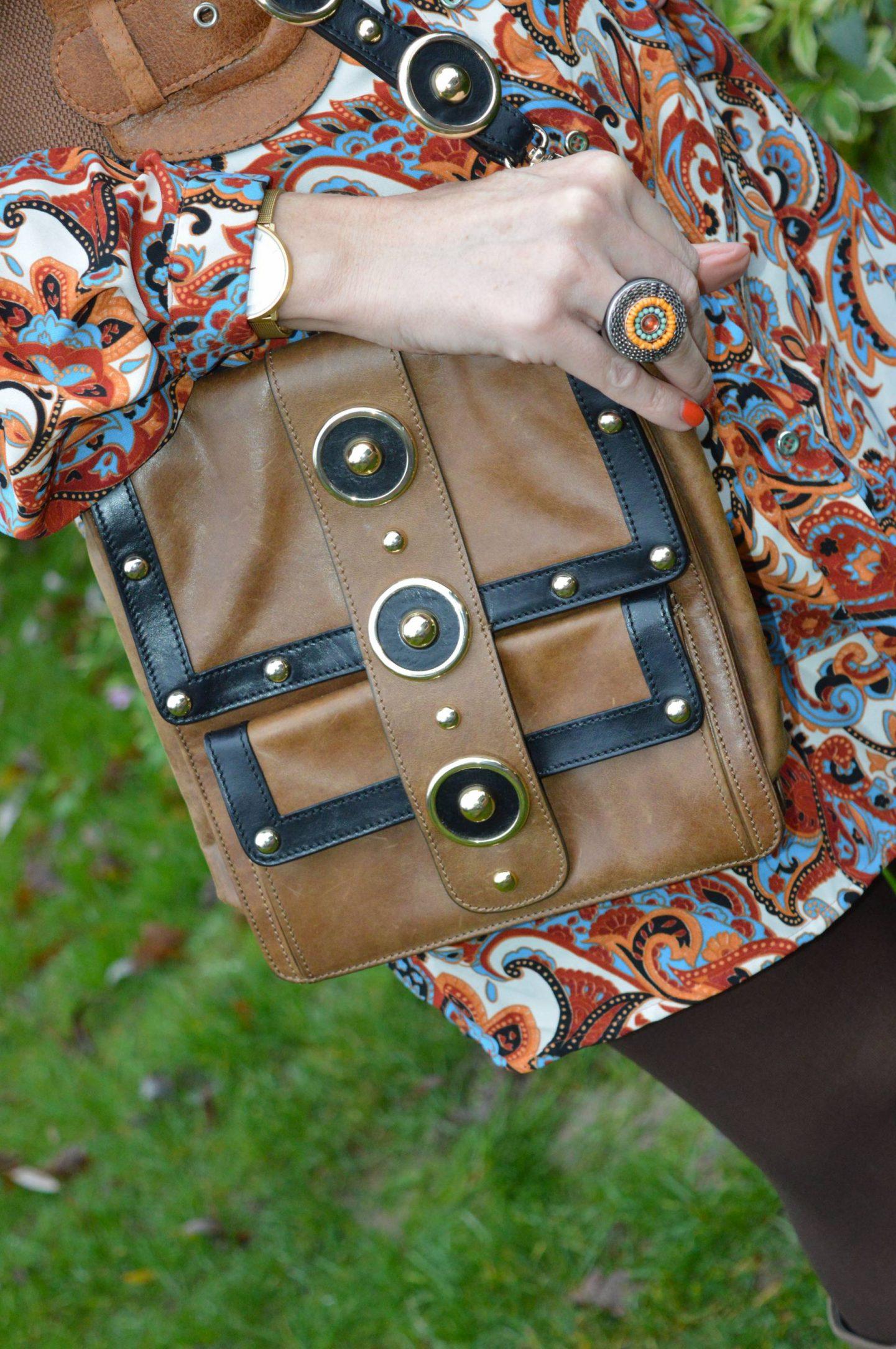 Temperley London Trinity messenger bag
