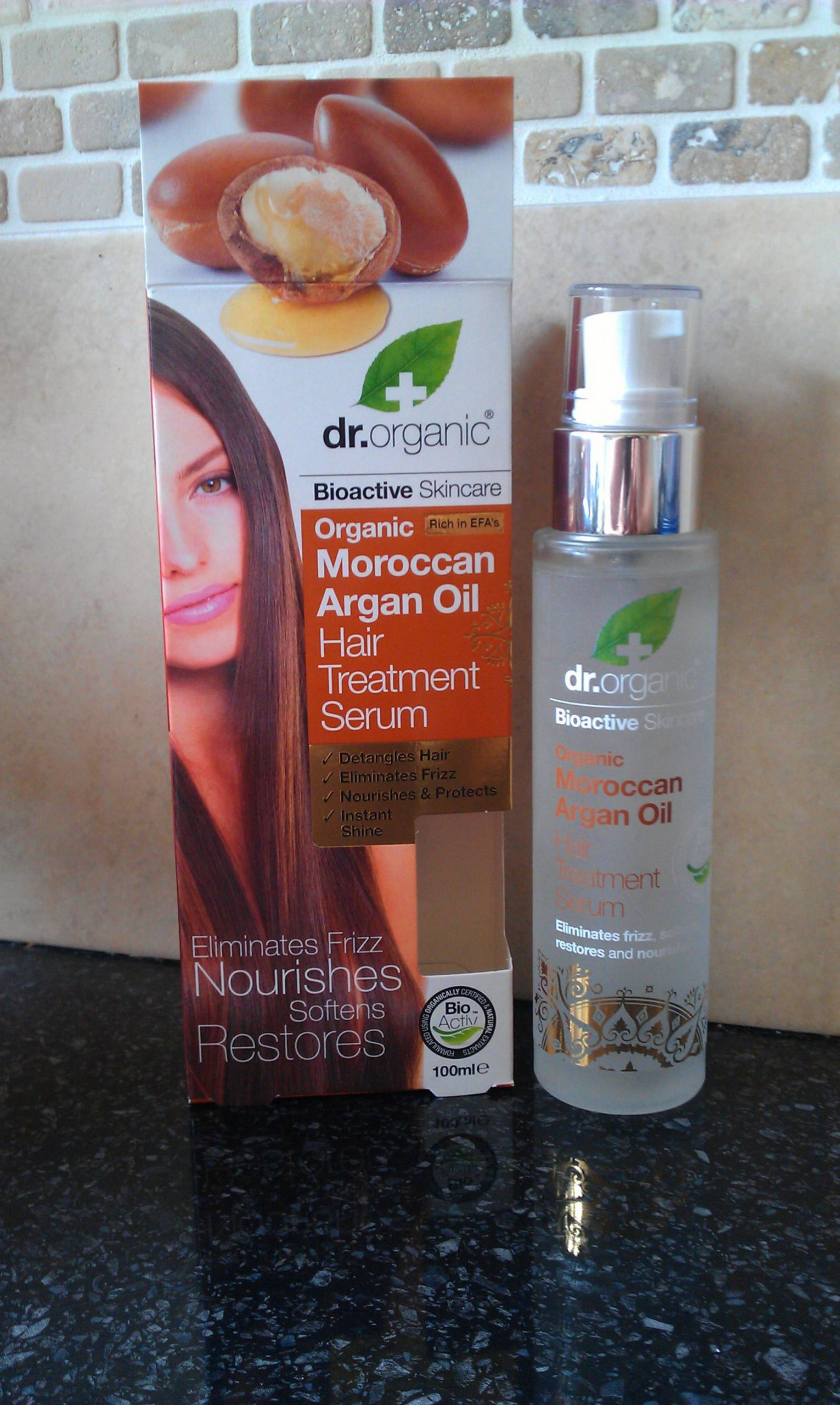 Dr Organic Argan Oil Hair Treatment Serum