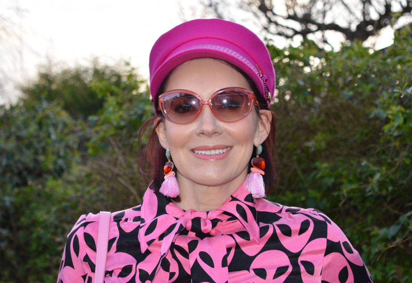 Fabienne Chapot pink cap
