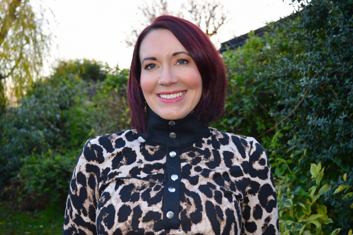 Baum und Pferdgarten Jagger Leopard Print Jersey Dress