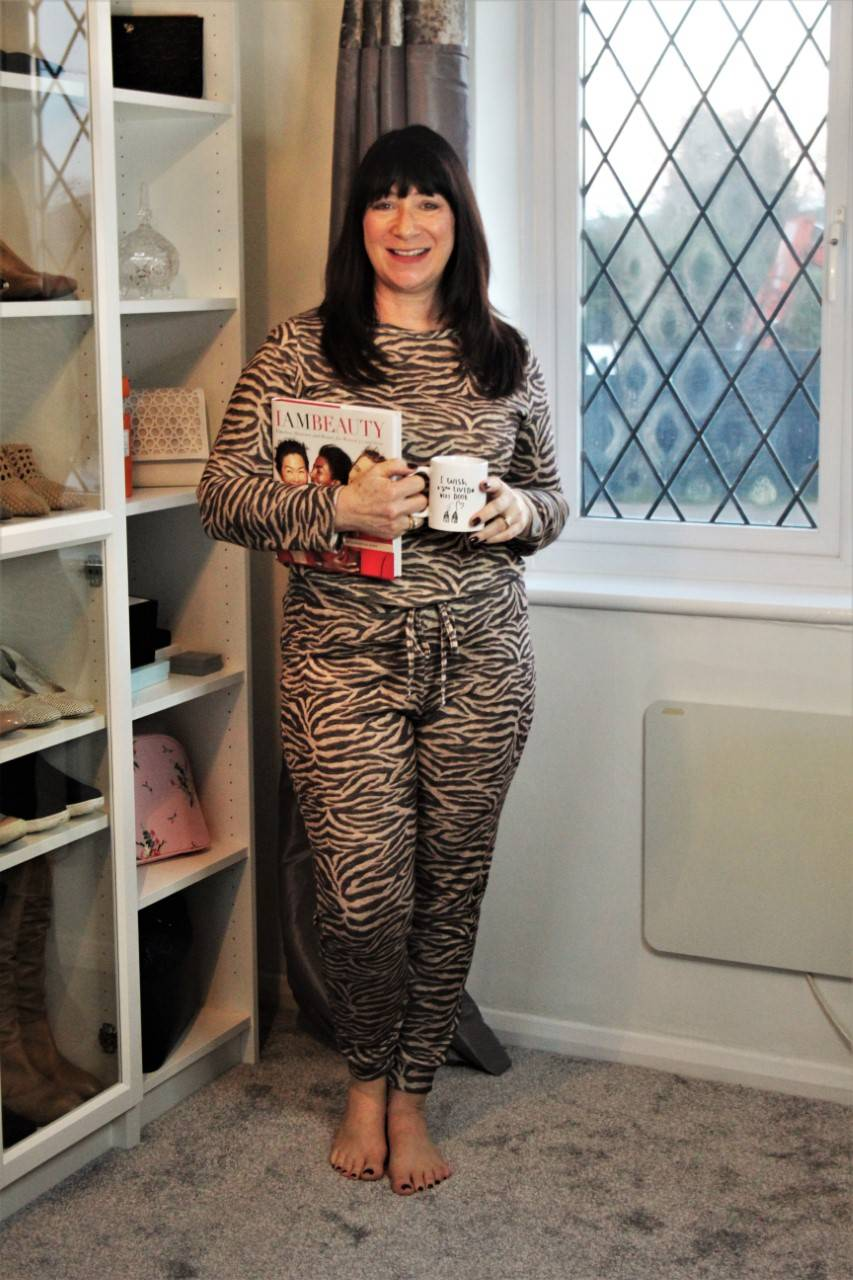 Lounging at Home - January's Style Not Age, Jacqui Berry