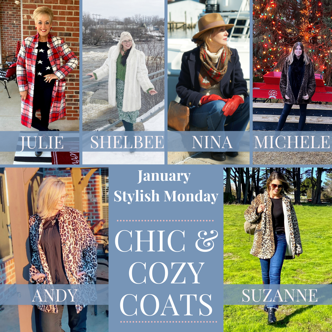 Chic and Cozy Coats - January's Stylish Monday Link Up