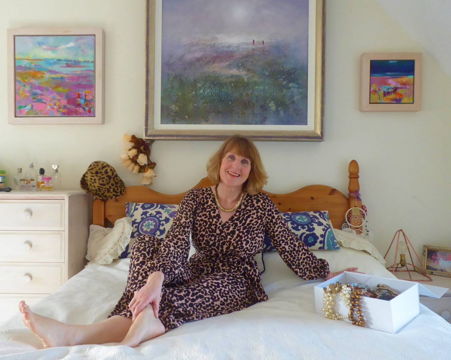 Lounging at Home - January's Style Not Age, Anna Parkes