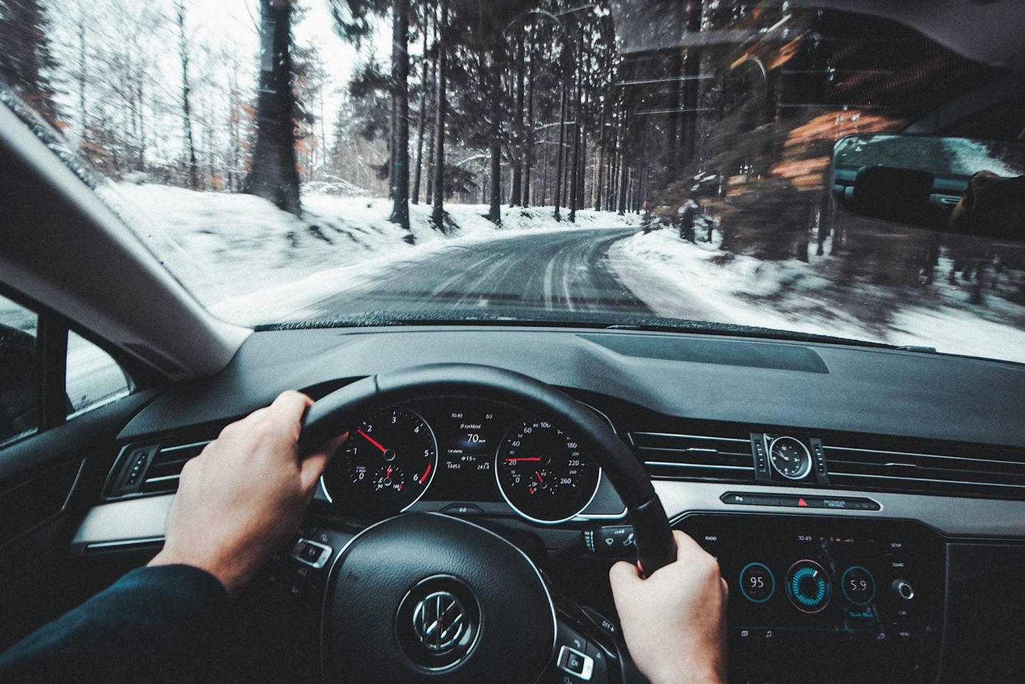 Essential Car Maintenance Tips For Winter, driving in the snow