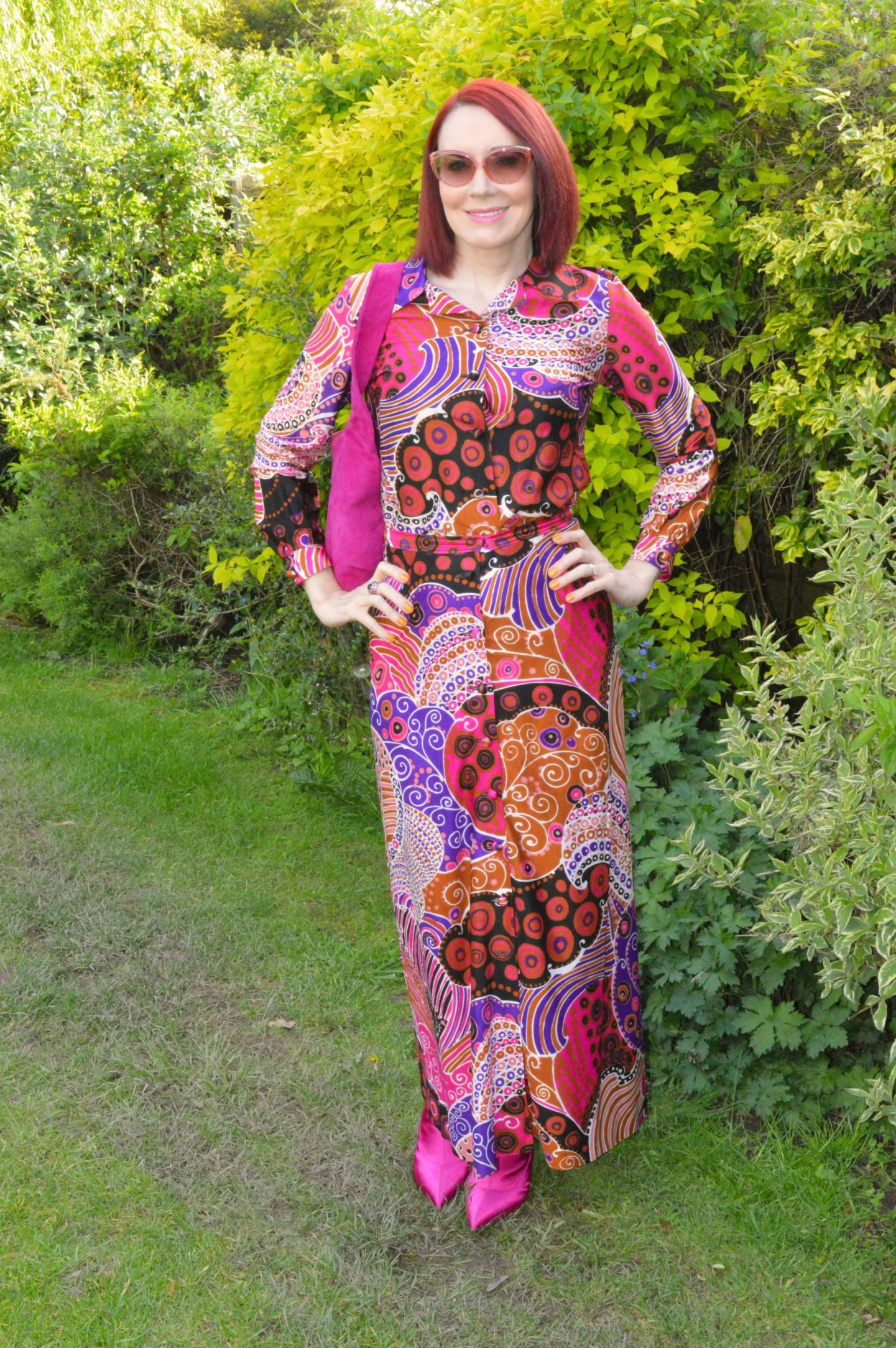 Vintage Blouse and Skirt