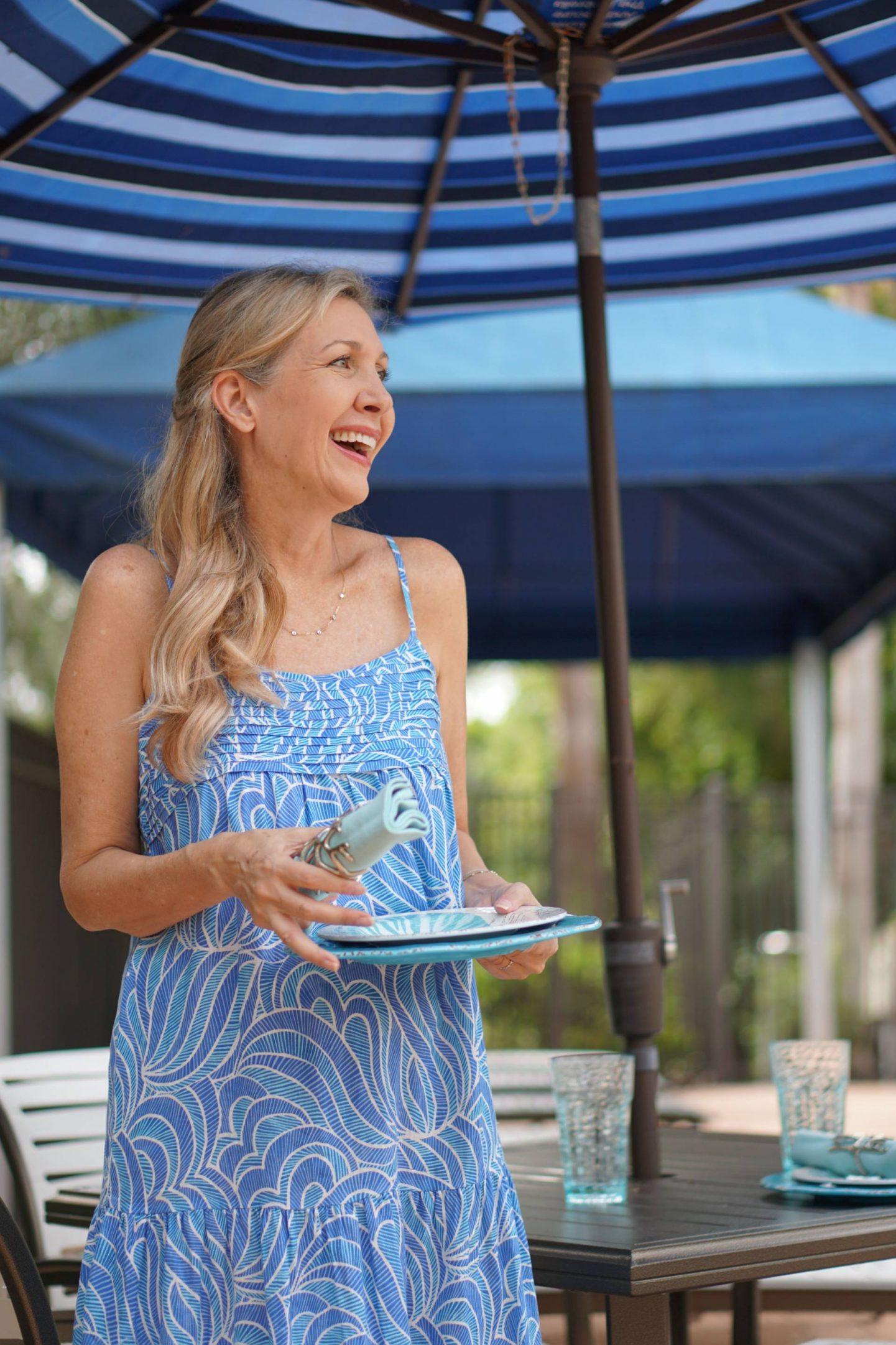 Sizzlin' Backyard BBQ Style, Nina, Sharing a Journey