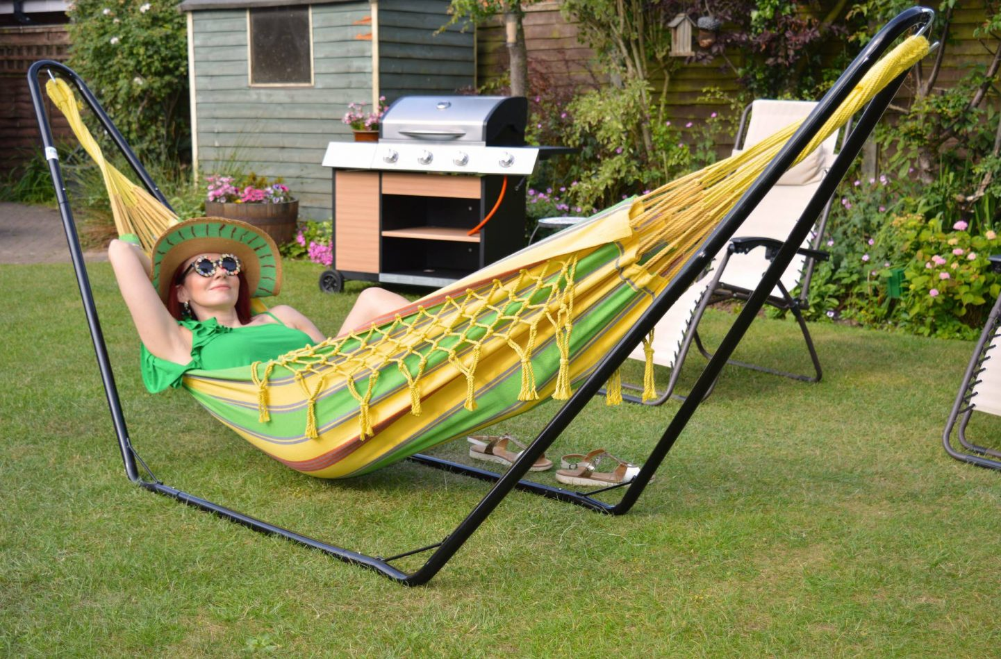Summertime and the Livin' Is Easy - Soaking Up the Sun in a Hammock, Tropilex hammock