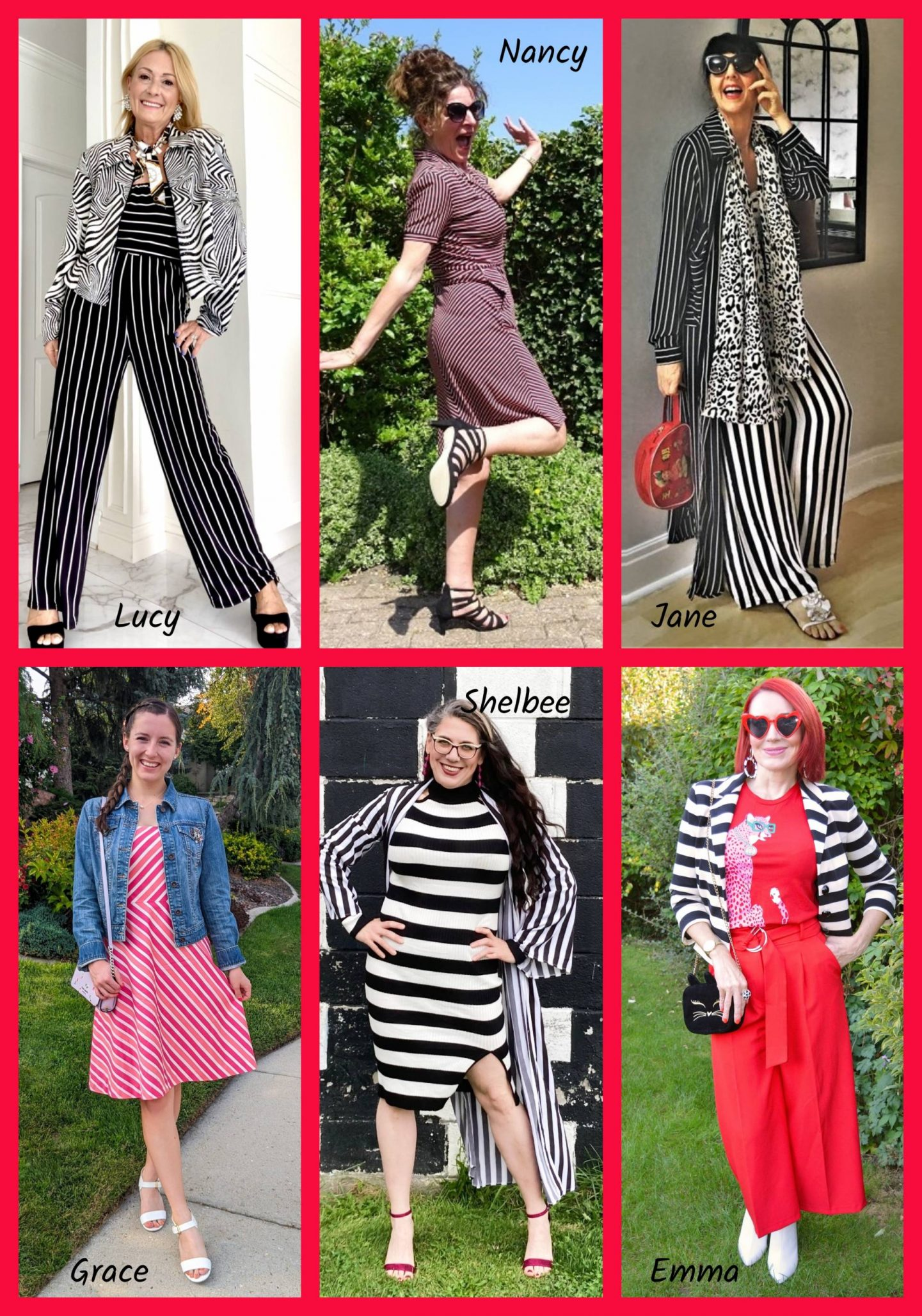 Simply Stripes - September's Thrifty Six