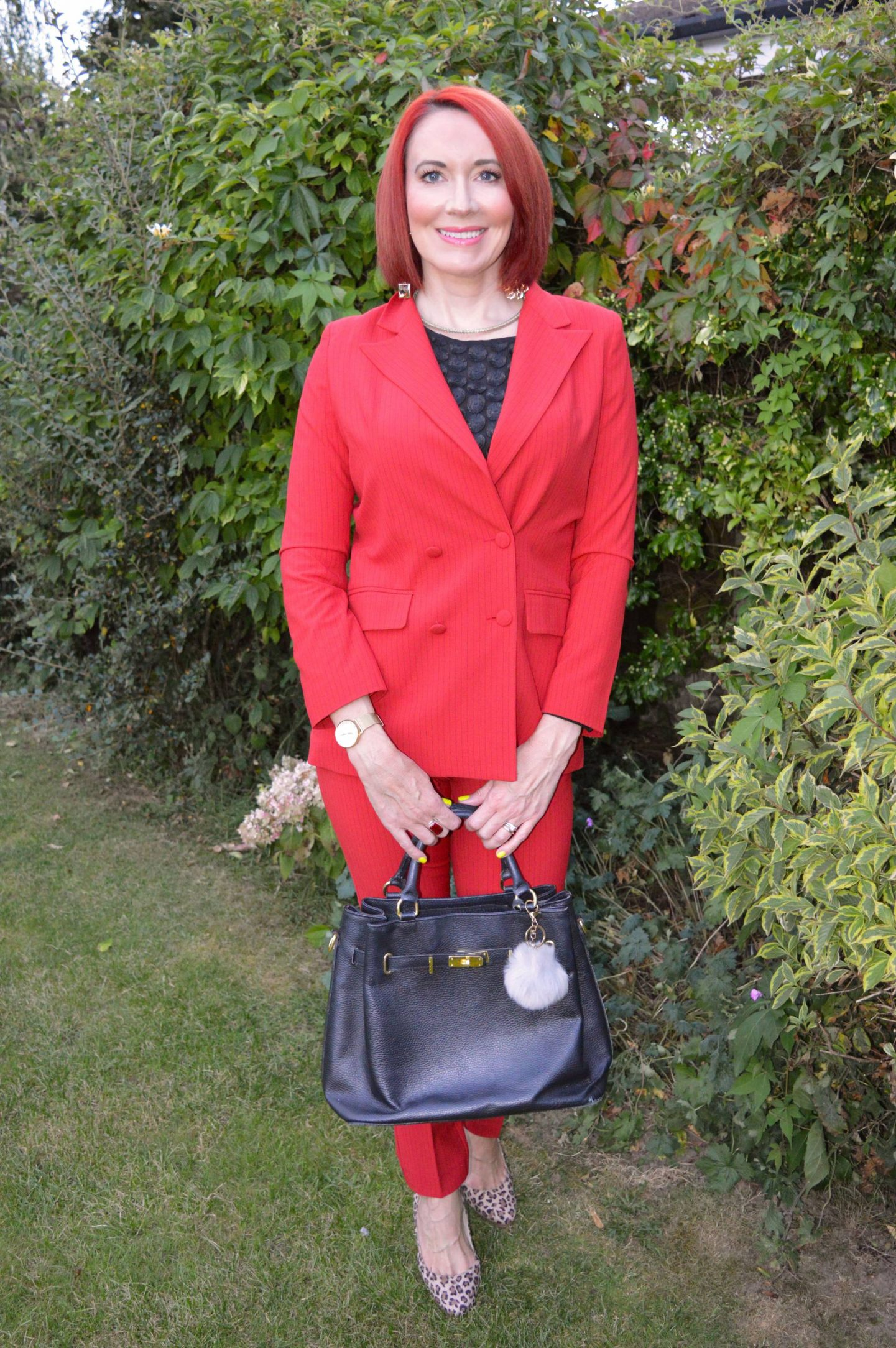 Red Alert Trouser Suit, Style & Suit Red Alert blazer and trousers